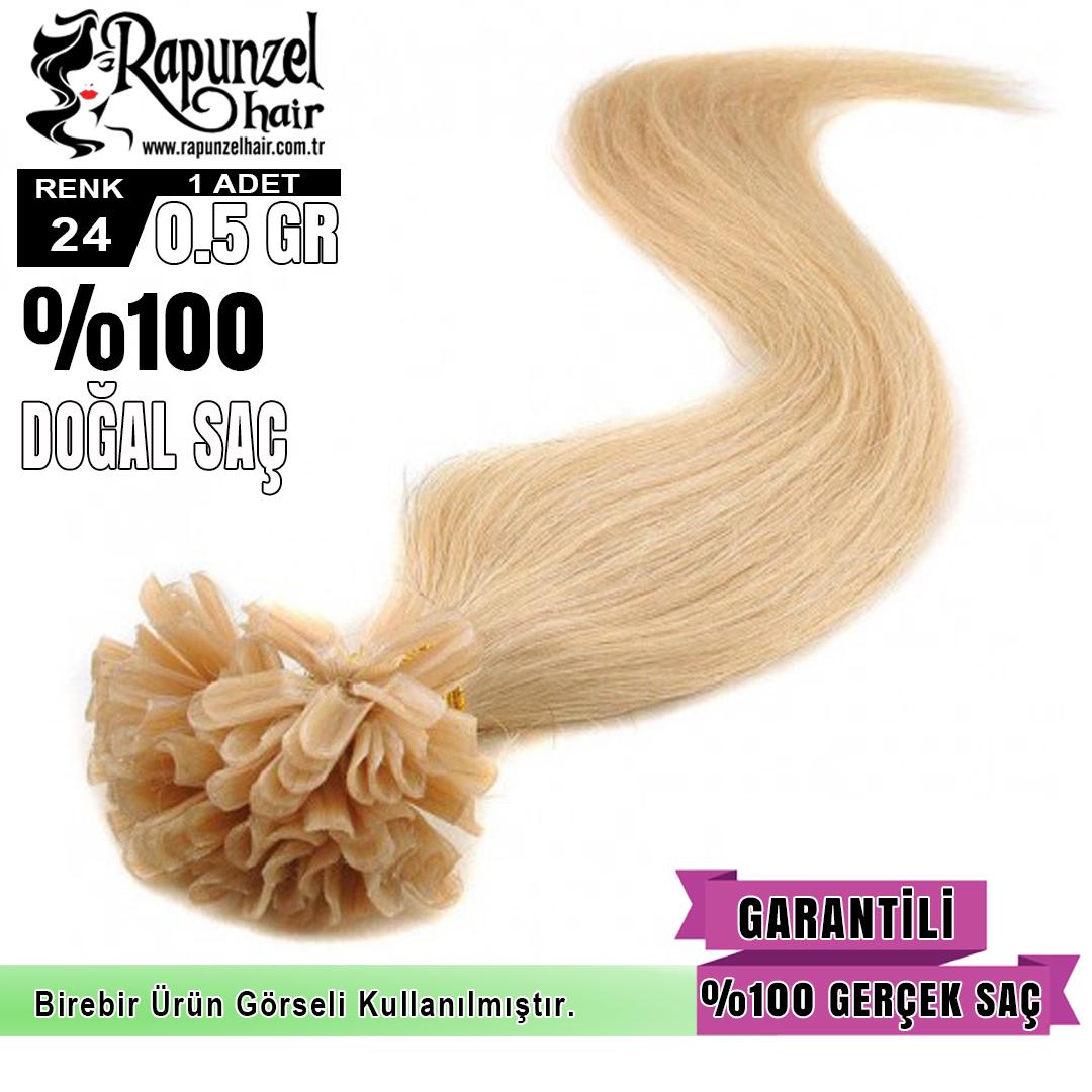 Mikro Kaynak Saç Koyu Renk (min. 100 adet) %100 Gerçek Saç Garantisi  1 Adet 0,5 gr 60 cm uzunluğunda